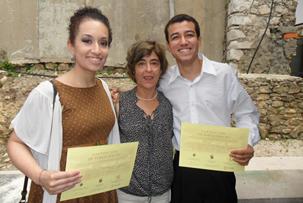 Aline Nardes está entre os 3% melhores alunos da Universidade de Coimbra