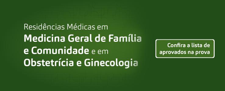 Residência Médica em Medicina geral de Família e Comunidade