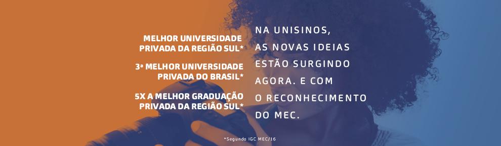Conheça os cursos de graduação da Unisinos