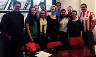 Equipe do Grupo de Pesquisa Direito, Tecnociência e Biopolítica - BioTecJus, coordenado pela Profa. Taysa Schiocchet