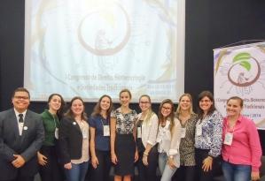 Comissão organizadora do I Congresso de Direito, Biotecnologia e Sociedades Tradicionais, ocorrido nos dias 25 e 26 de março de 2014.