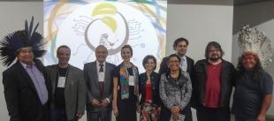 Conferencistas do  I Congresso de Direito, Biotecnologia e Sociedades Tradicionais, ocorrido nos dias 25 e 26 de março de 2014, coordenado pela Profa. Dra. Taysa Schiocchet.