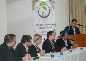 Congresso ocorrido nos dias 25 e 26 de março de 2014, organização do Grupo de Estudos Avançados em Direito, Tecnociência e Biopolítica, com o apoio da Capes.