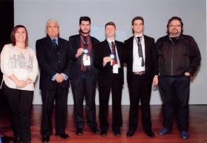 Bernardo Leandro Carvalho Costa, Guilherme Augusto de Vargas Soares  e Thiago Fontanive foram premiados com distinção na categoria