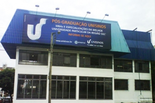 A Unisinos possui Unidades no Rio Grande do Sul e polos nos três estados da Região Sul.
