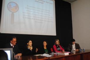 Palestrantes do evento CIBERTRANSPARÊNCIA, ocorrido no dia 05/05/2015 sob a coordenação da Profa. Têmis Limberger