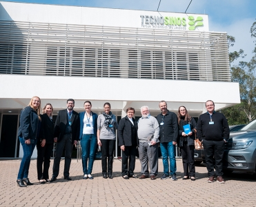 Gestores do Hospital Regina participam de agenda no Tecnosinos