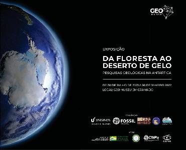 Da Floresta ao Deserto de Gelo: Pesquisas Geológicas na Antártica