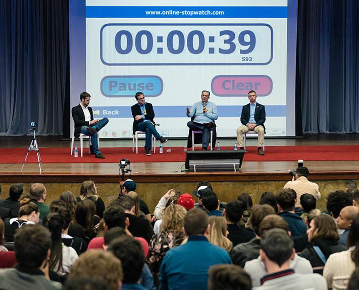 Imagem para a notícia Candidatos ao governo do Estado debatem na Unisinos