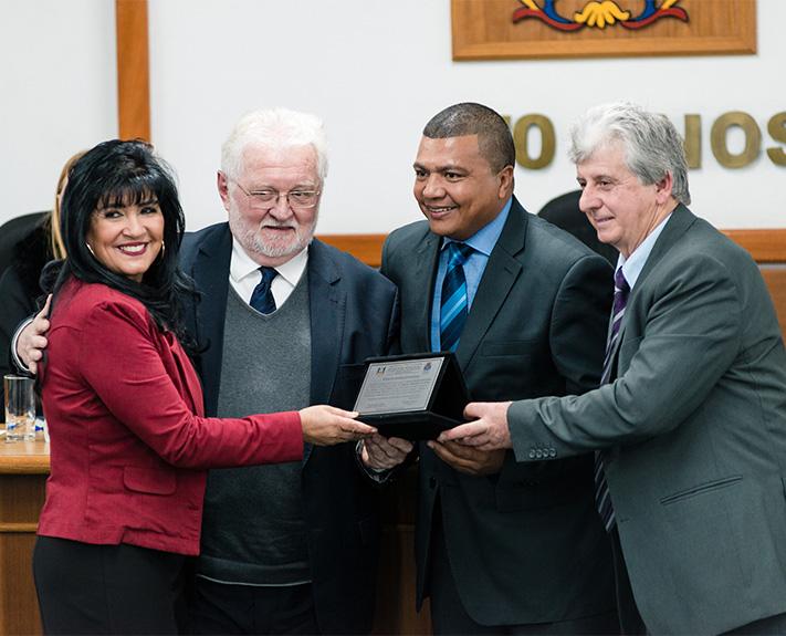 Imagem para a notícia Reitor da Unisinos é cidadão leopoldense