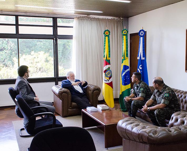 Imagem para a notícia Reunião aborda Programa Força pelo Esporte